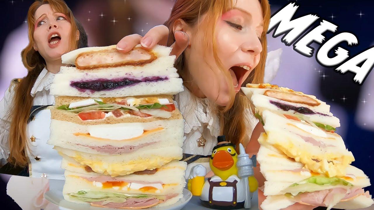 $40.00 Japanese Sandwich Tower Challenge