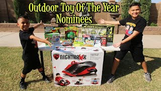 OUTDOOR TOY OF THE YEAR NOMINEES 2019 | D&D SQUAD