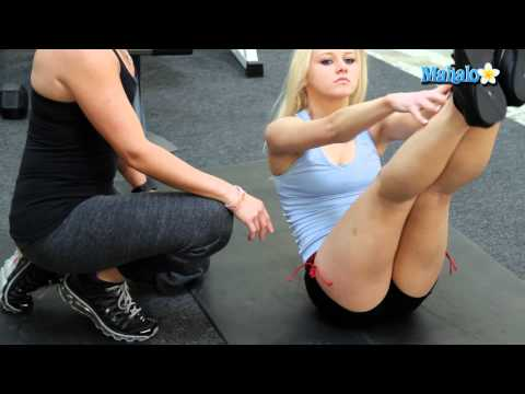 Great Exercises for Your Abs - Jackknife With a Ball