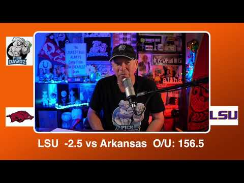 LSU vs Arkansas 1/13/21 Free College Basketball Pick and Prediction CBB Betting Tips