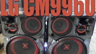 LG CM9960 sound test