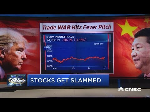 These stocks are getting slammed as the trade war hits a fever pitch