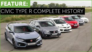 Complete History of the Honda Civic Type R - from EK9 to FK8 - With Surprise Drag Race!