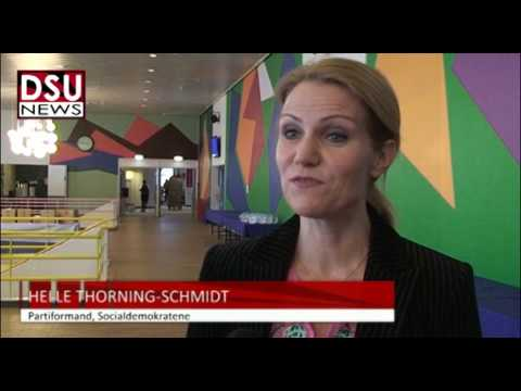 S-kongres: Interview med Helle Thorning-Schmidt
