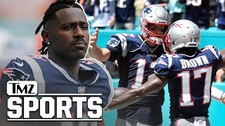 Antonio Brown Released By Patriots, Looking for New NFL Team | TMZ Sports