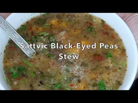 Sattvic Black Eyed Peas Soup