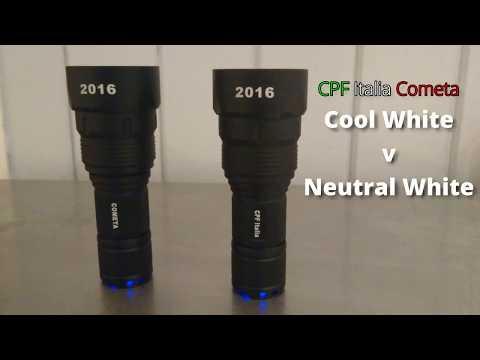 CPF Italia Cometa - Cool White v Neutral White