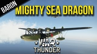 War Thunder - With the Mighty Sea Dragon - H6K4 Formation With Phly