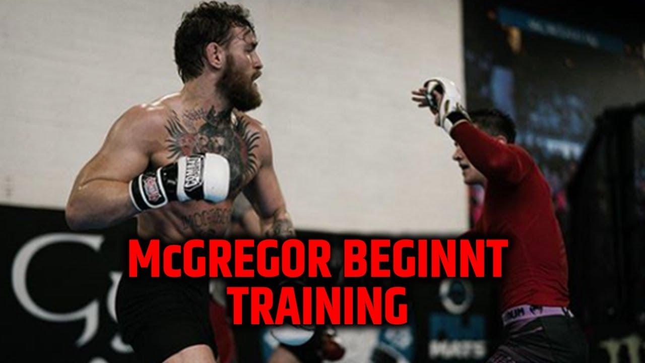 Conor Mcgregor Startet Training Fur Januar Comeback