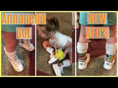 Annabelle Gets Her AFO's! | VLOG #180