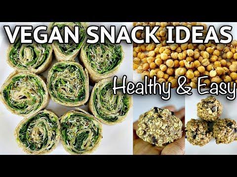 EASY HEALTHY VEGAN SNACK IDEAS ON THE GO (part 2!)