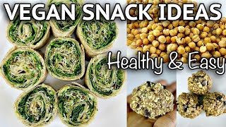 EASY HEALTHY VEGAN SNACK IDEAS ON THE GO (part 2!)