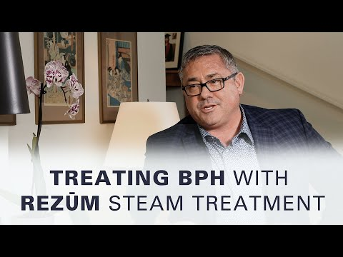 Treating BPH With Rezum Steam Treatment With Stephen Gange, MD   Off The Cuff With Dr. Mark Moyad