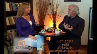Encuentros de Reiki y Psicologia - Maestro Juan Costa - Lic. Sandra Stubelj
