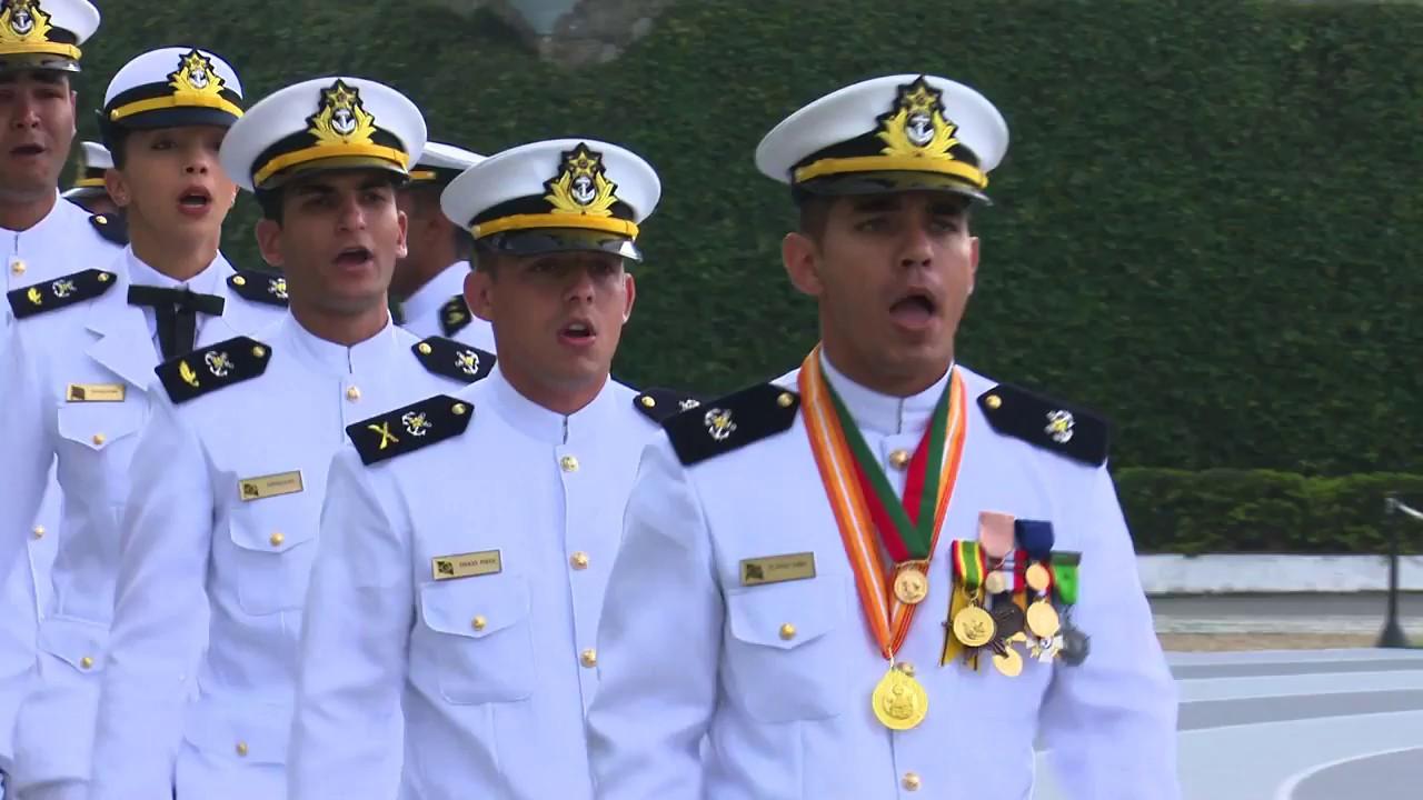Mulheres Se Formam Na Escola Naval 2017 Youtube
