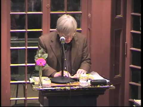"Robert Coover reads from ""The Public Burning"""