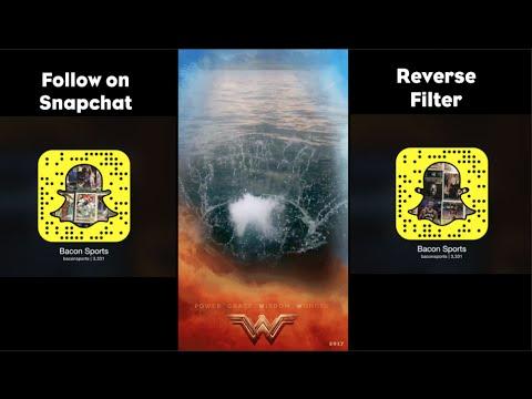 Reverse Snapchat Filter