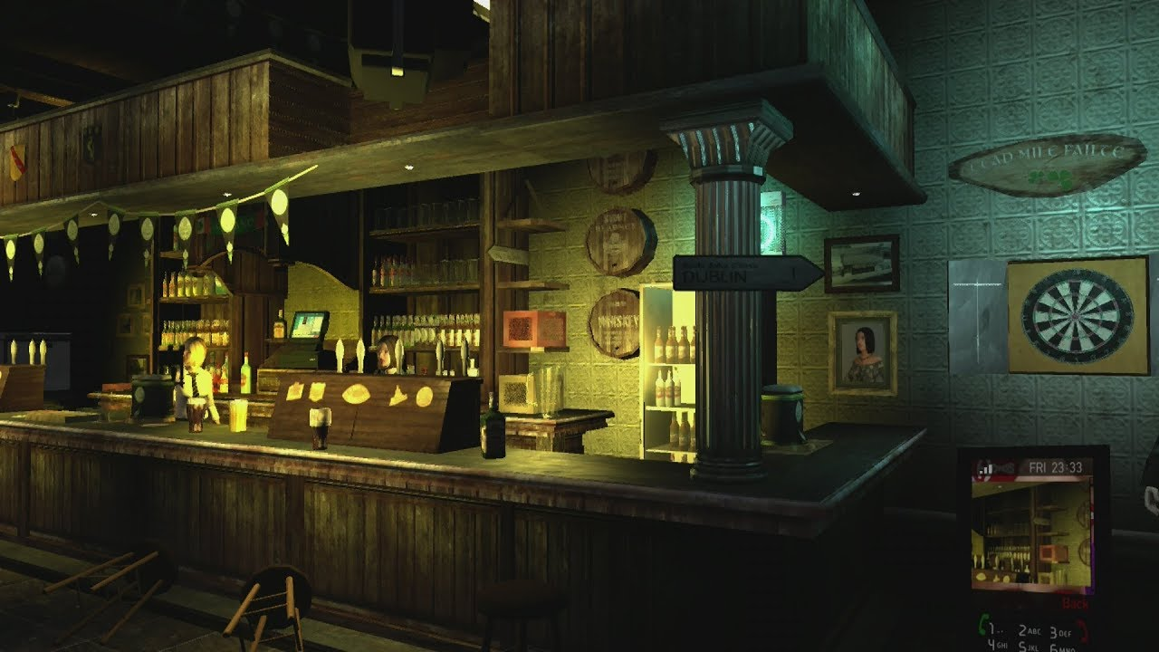 GTA 4 Pubs and Clubs. Steinway Beer Garden. With extra drunk effects ...