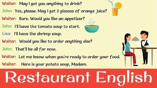 English Phrases to Use At A Restaurant: Making A Reservation, Ordering, Making Comments on Food
