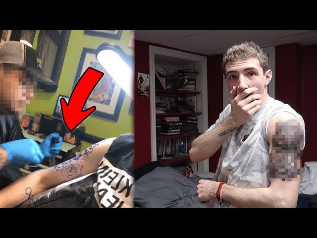 Getting a TATTOO at the BEST Reviewed Shop in My City! *MUST WATCH*