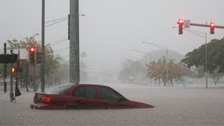 El huracán Lane se acerca a Hawaii