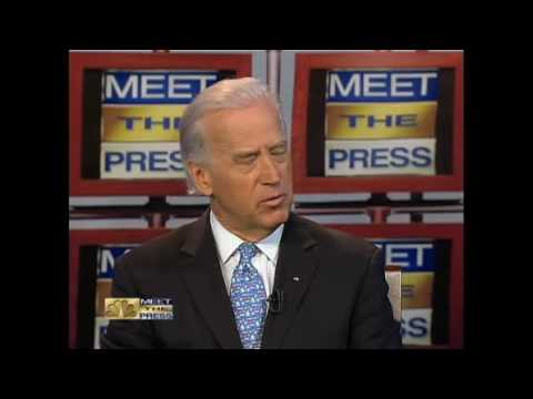 Joe Biden On Meet The Press- Economy