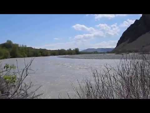 Armenian- Turkish border, Araxes river April 14 2015
