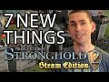 7 New Things About Stronghold 2: Steam Edition