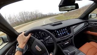 2017 Cadillac CT6 - POV First Impressions (binaural audio)