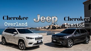 New Jeep Cherokee Overland and Cherokee Limited (2019)