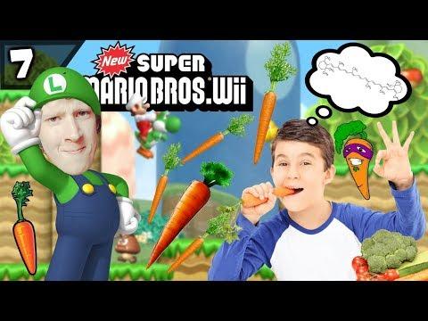 Waarom Zijn Wortels Oranje? - New Super Mario Bros Wii #7