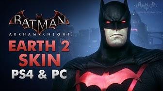 Batman: Arkham Knight - Earth 2 Dark Knight Skin (PS4 & PC)