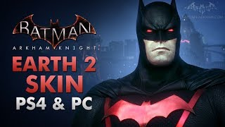 Batman: Arkham Knight - Earth 2 Dark Knight Skin (PS4 & PC)