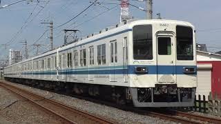 東武8000系8162F豊春~八木崎通過