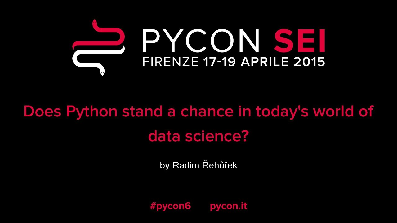 Image from Does Python stand a chance in todays world of data science?