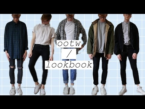 thrift lookbook/outfits of the week (men's fashion)
