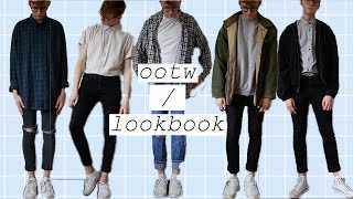 thrift lookbook/outfits of the week (men