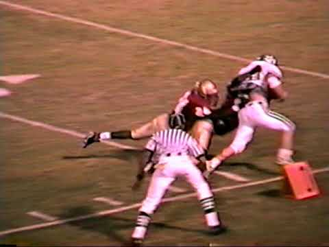 1999 Murray County High School vs Rome Wolves football