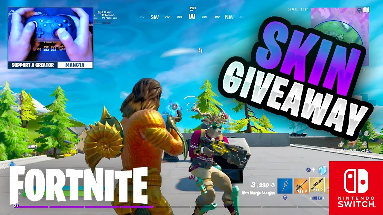 SKIN GIVEAWAY - Fortnite on the Nintendo Switch #83