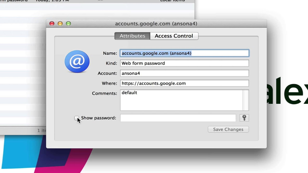 Keychain Access on Mac OS X - Tutorial and Introduction - YouTube 2579695cf