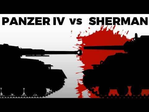 Panzer IV Vs. Sherman