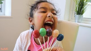 Learn Color of Lollipop with Play from Ishfi