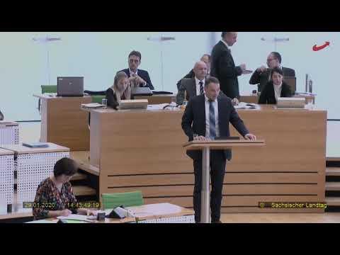 """Sebastin Wippel AfD: """"Advent, Advent, ein Bulle brennt - Wieviel Linksextremismus in Sachsen?"""""""