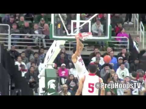 Oregon Duck commit Trevor Manuel highlights vs Arthur Hill