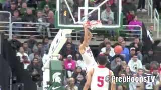 Oregon Duck commit Trevor Manuel highlights vs Arthur Hill