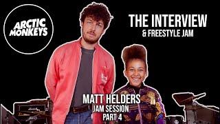 Matt Helders Interview and Freestyle Jam - Part 4 - Arctic Monkeys