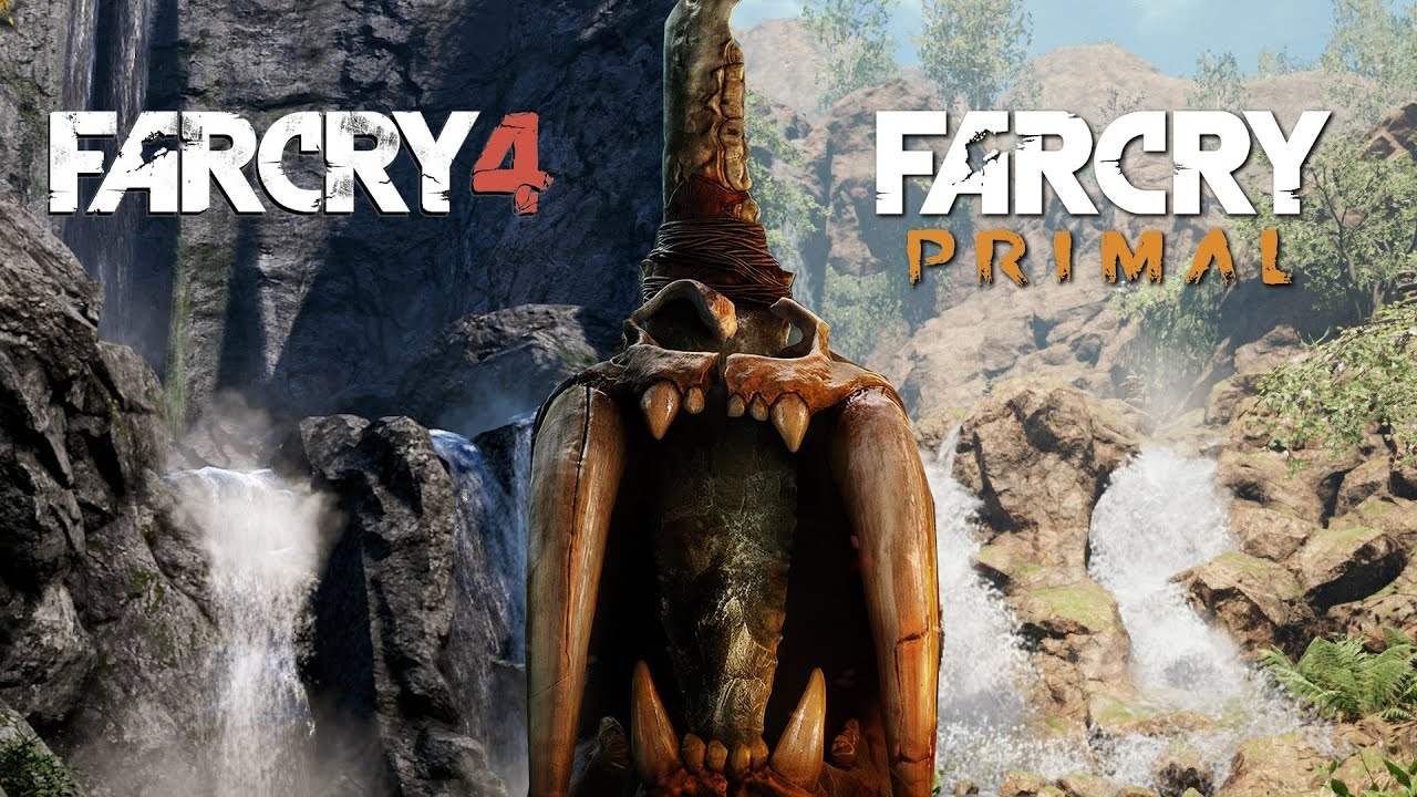 The Far Cry Primal And Far Cry 4 Worlds Look Very Similar Youtube