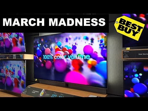 BestBuy March Madness Store trip