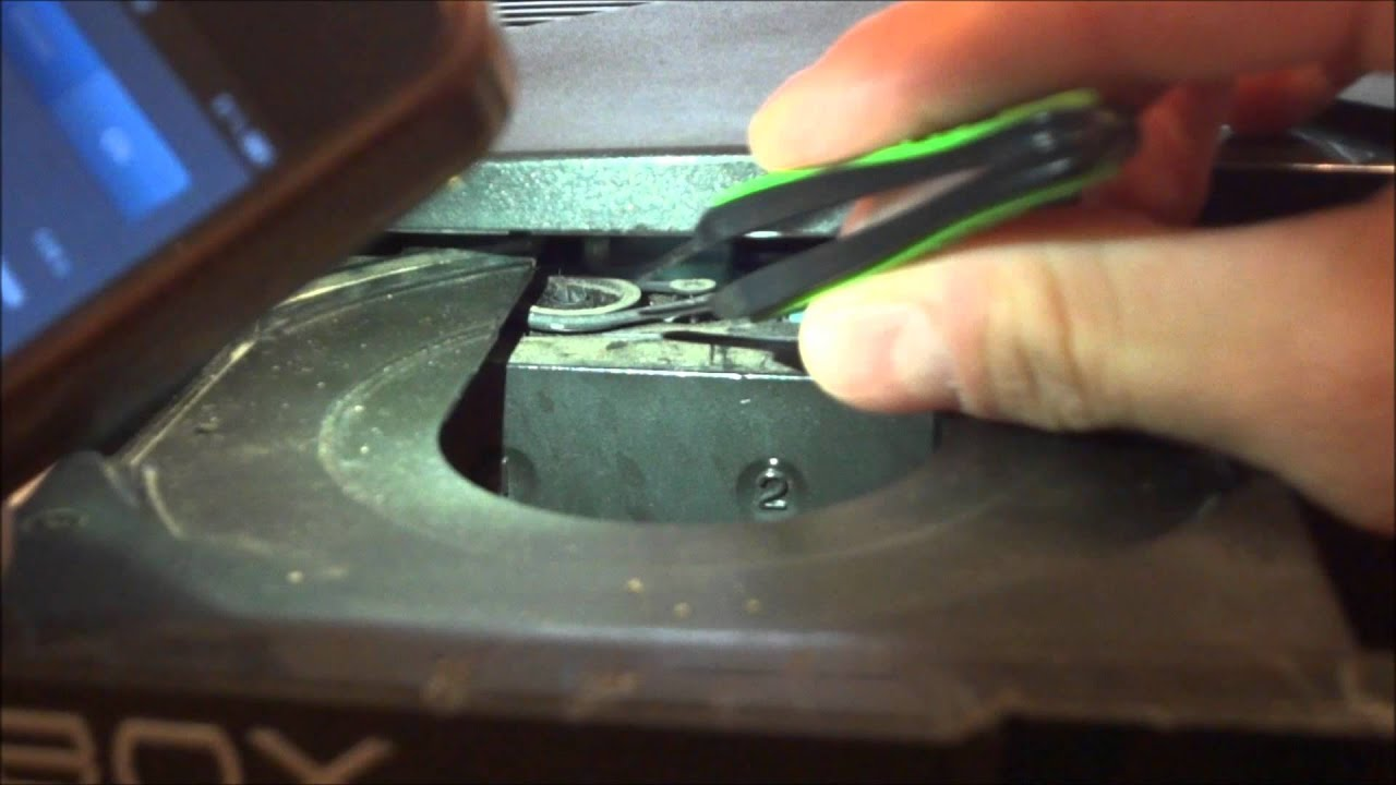 How To Fix A Stuck Sticky Xbox Dvd Drive Tray Youtube