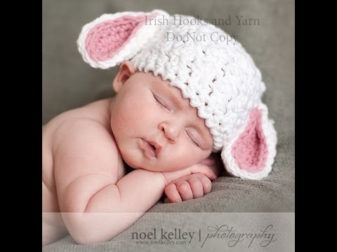 29e446d037f2 Lamb hat crochet tutorial Tamil English - YouTube